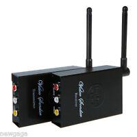2.4GHz 4CH Channels WiFi Wireless Audio Video Sender Transmitter Receiver Camera