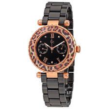 Guess Black Dial Ladies Ceramic Watch X35016L2S