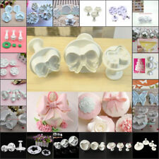 Christmas Cake Decor Fondant Sugarcraft Icing Plunger Cutters Tools Mold Mould