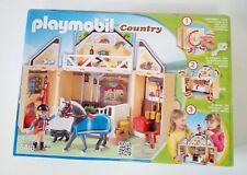Playmobil Country 5418 establo caballos completo / horses stable complete