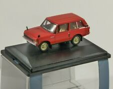 RANGE ROVER CLASSIC in Red 1/76 scale model OXFORD DIECAST