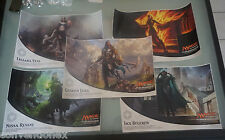SDCC Comic Con Magic the Gathering Planeswalkers Poster EXCLUSIVE Set of 5
