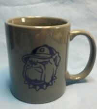 "Georgetown NCAA Hoyas Coffee Mug/Cup Jack The Bulldog ""Hoya Saxa!!!"""