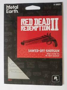 Red Dead Redemption 2 Metal Earth Shotgun model kit