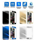 Mirror Tempered Glass Front+ Back Screen Protector For Apple iPhone 6s Plus SE 7