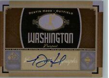 2012 SP Signature Collection Destin Hood #WAS7 Auto