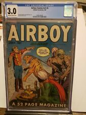 Airboy Comics Vol 5 #6 1948 CGC 3.0 Off-White to White Pages Hillman Periodicals