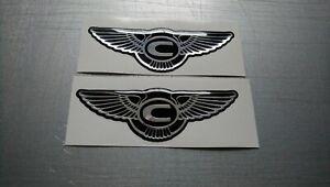 ****Chrysler badges high gloss gel domed badges****Bentley