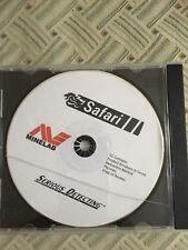 Metalldetektor - Minelab Safari   CD Mit Anleitung und Tipps