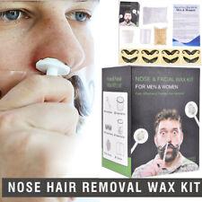 Women & Men Nose Hair Removal Wax Beads Kit Nasal Ear Hair Effective & Painless