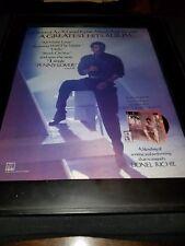 Lionel Richie Penny Lover Rare Original Promo Poster Ad Framed!