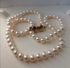 Blue Lagoon By Mikimoto 5mm Akoya Pearl Necklace 14k Clasp