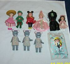 2004 group of Madame Alexander Dolls by McDonald