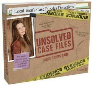 Unsolved Case Files Murder Mystery Game JAMIE BANKS Case