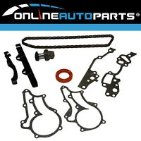 Engine Timing Chain Tensioner Gasket Seal + Guides Kit suits Toyota 22R 22RE 2.4