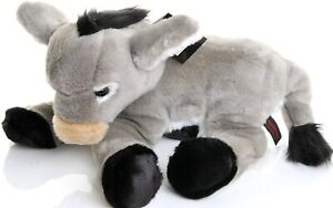 Soft Plush Donkey 36cm by Dowman Imports