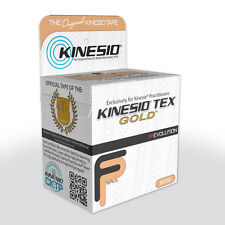 KINESIO FP Tape - 5m by 5cm BEIGE - Kinesiology Tape Roll for Injuries & Support