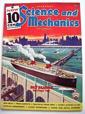 """June 1935 """"Everyday Science & Mechanics"""" w/ Article on The Obsolete Airships *"""