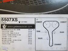 RENAULT Clio Espace Laguna Scenic 1.8 2.0 16v GATES Cambelt Timing Belt 5507XS