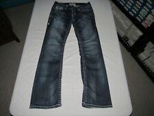 "Big Star Women's Liv Boot Blue Denim Jeans Size 30 L Waist 32"" Inseam 32"""