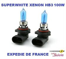 AMPOULES XENON SUPERWHITE  HB3  9005 100W SUZUKI NEUF