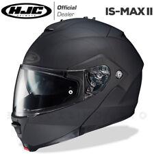 CASCO MODULARE APRIBILE MOTO HJC IS-MAX 2 II UNI NERO RUBBERTONE - OPACO