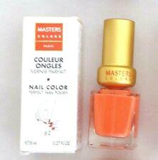 Masters Colors Paris Perfect Nail Polish Varnish 8ml Peach 662 pastel orange