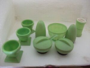 Beetleware Light Green Cruet Set 1940's Vintage Retro and other items
