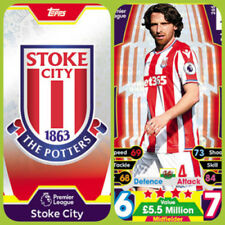 Stoke City Football Trading Cards & Stickers (2017-2018 Season