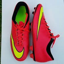 Nike Mercurial Vortex Ii Fg Low Mens Us 12 Soccer Cleats Hyper Punch 651647 690