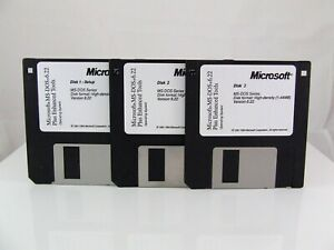 MS-DOS 6.22 + ENHANCED TOOLS! NEW!! FULL VERSION!! WOW! FAST FREE SHIPPING!!