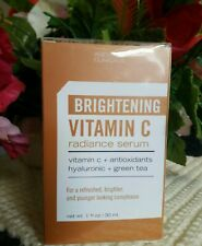 Agevault Clinicals Brightening Vitamin C Radiance Serum Hyaluronic Green Tea