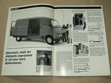 Prospectus Gamme Utilitaires Légers FIAT   brochure  camion LKW  truck