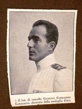 WW1 Prima guerra mondiale Tenente Giuseppe Garrassini Garbarino Medaglia d'oro