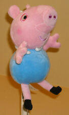 "STUFFED ANIMAL PEPPA PIG 7-8"" PLUSH DOLL GEORGE"