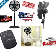 Stand Up Fan With Remote And Timer Cooling Quiet Powerful For Bedroom Sleeping
