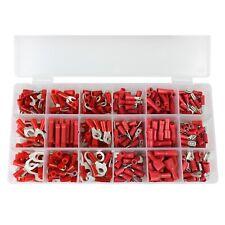 360 Terminales de Cable Sortiment-Box Conjunto Rojo 0,5 -1 ,5mm ² Anillo Tenedor