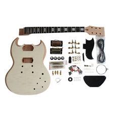 Coban Guitar DIY Kit Flamed Maple Veneer with NON-Soldering Gold fittings SG590