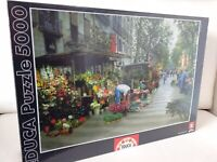 🌟NEW Educa 5000 Piece Jigsaw Puzzle Las Ramblas Barcelona