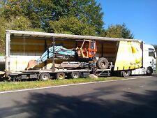 Trecker Traktor Transporte Festpreise Baumaschine Stapler Gabelstapler Europa