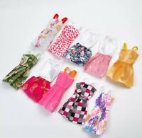 2 X Piece RANDOM MIX Doll Barbie Dress Up NEW Fashion Girls Play Toy Clothes