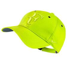 165201e166f New Nike RF Roger Federer Hat Cap Volt Tennis Dri Fit 371202-704