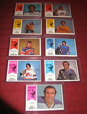 World Hockey Association  LOT 10-73-74 2-76-77-1-75-76. EX-MT