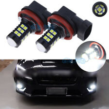 2Pcs H11 H8 3200LM CANBUS White LED Fog Light DRL Bulbs For FORD MONDEO MK3 MK4