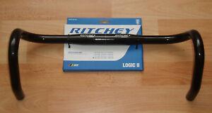 RITCHEY WCS LOGIC II  Rennrad Lenker, 31,8 mm, 440 mm, black gloss, AL7050