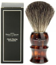 Edwin Jagger Pure Badger Shaving Brush Tortoise Shell Imitations