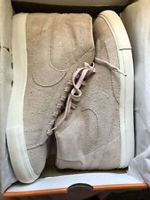 on sale c52bc d8371 Nike Blazer Mid Silt Red Summit White 371761 607 Suede Mens 11.5 NEW