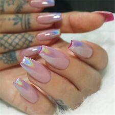 Nail Glitter Art Rainbow Laser Mirror Pigment Powder Dust Manicure Chrome Decors