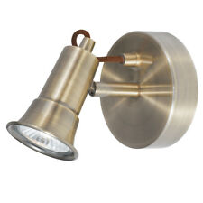 Searchlight 1221AB Eros Antique Brass Wall Light Spotlight