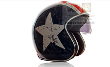 Rebel Star Casco origine Helmets Capitan America Vespa Custom Moto Scooter S 55/56